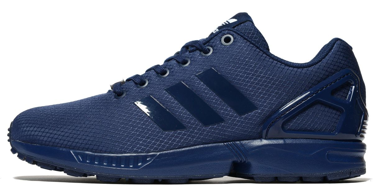 san francisco 36126 6f616 Lyst - adidas Originals Zx Flux Ripstop in Blue for Men
