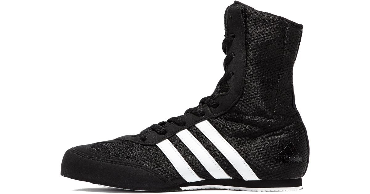 brand new e81d9 d7a42 Lyst - adidas Box Hog Boxing Boots in Black for Men