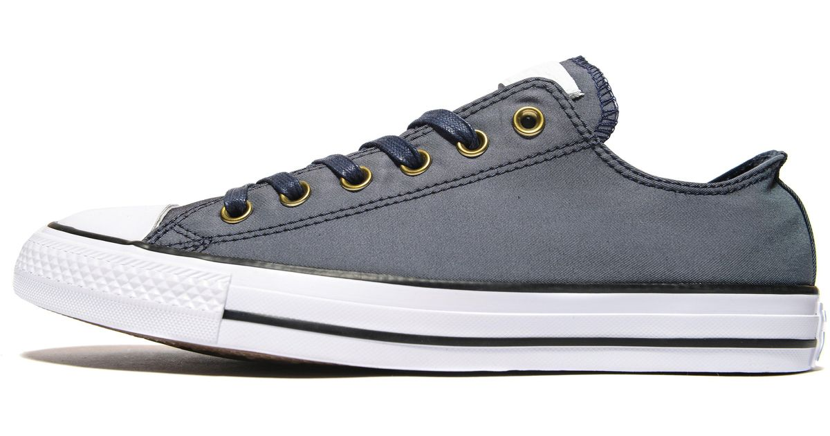 2f25ce2dc3ee Lyst - Converse All Star Ox Twill in Blue for Men