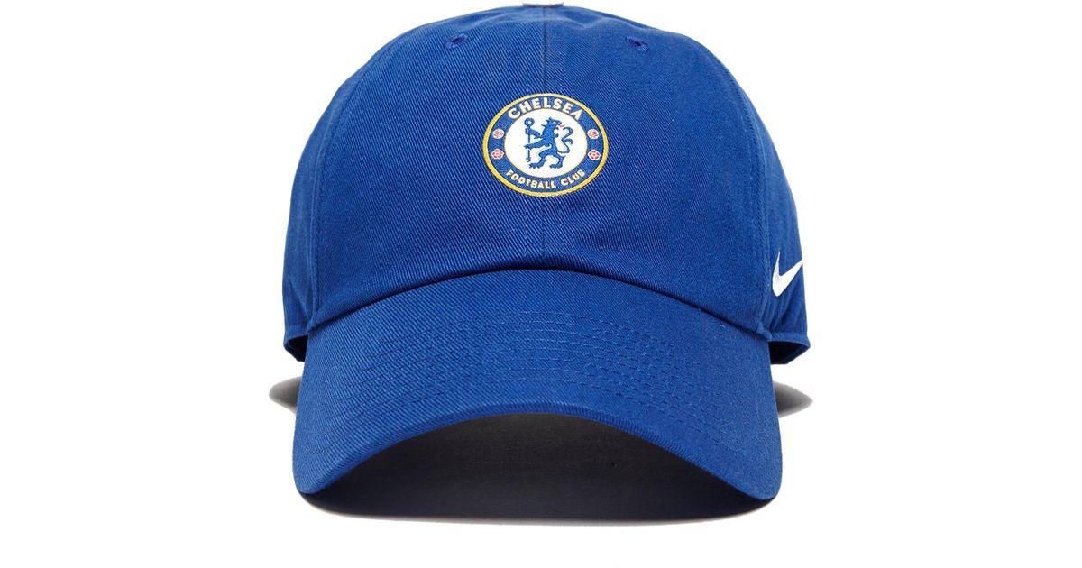 Nike Chelsea Fc H86 Cap in Blue for Men - Lyst e54120beb96