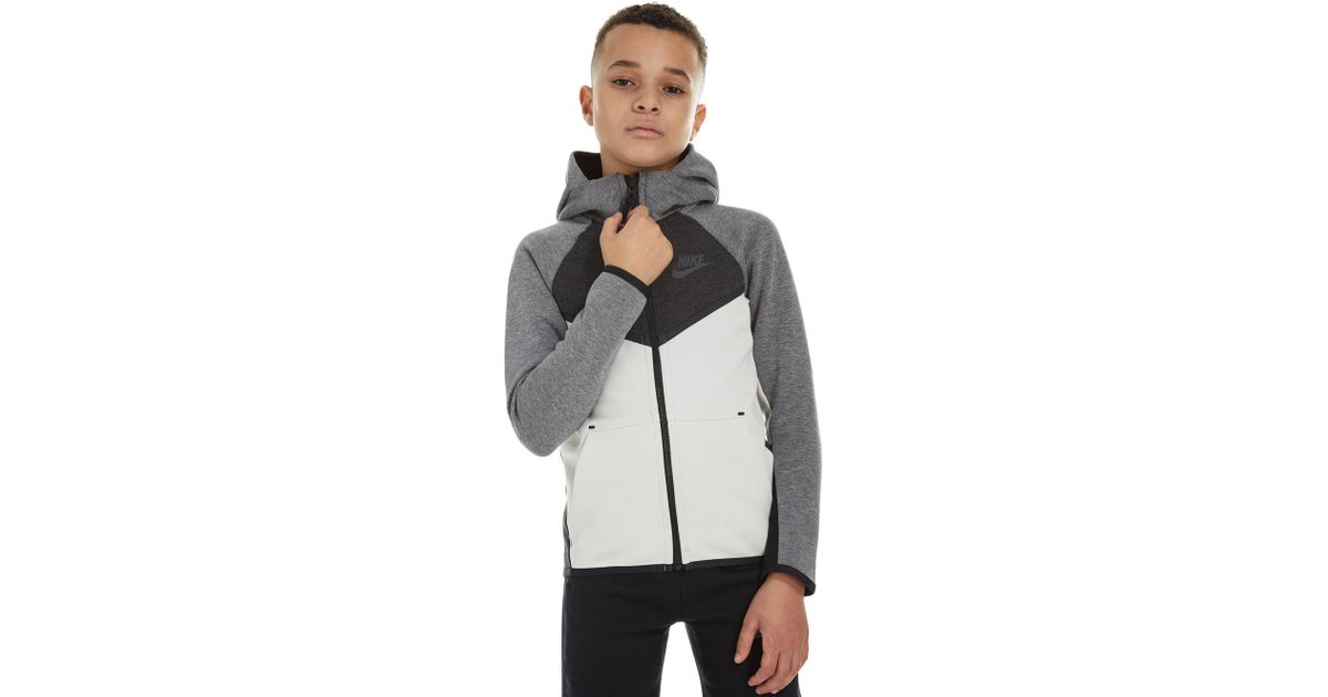 a593b30f7fc Nike Tech Windrunner Hoodie Junior in Gray for Men - Lyst