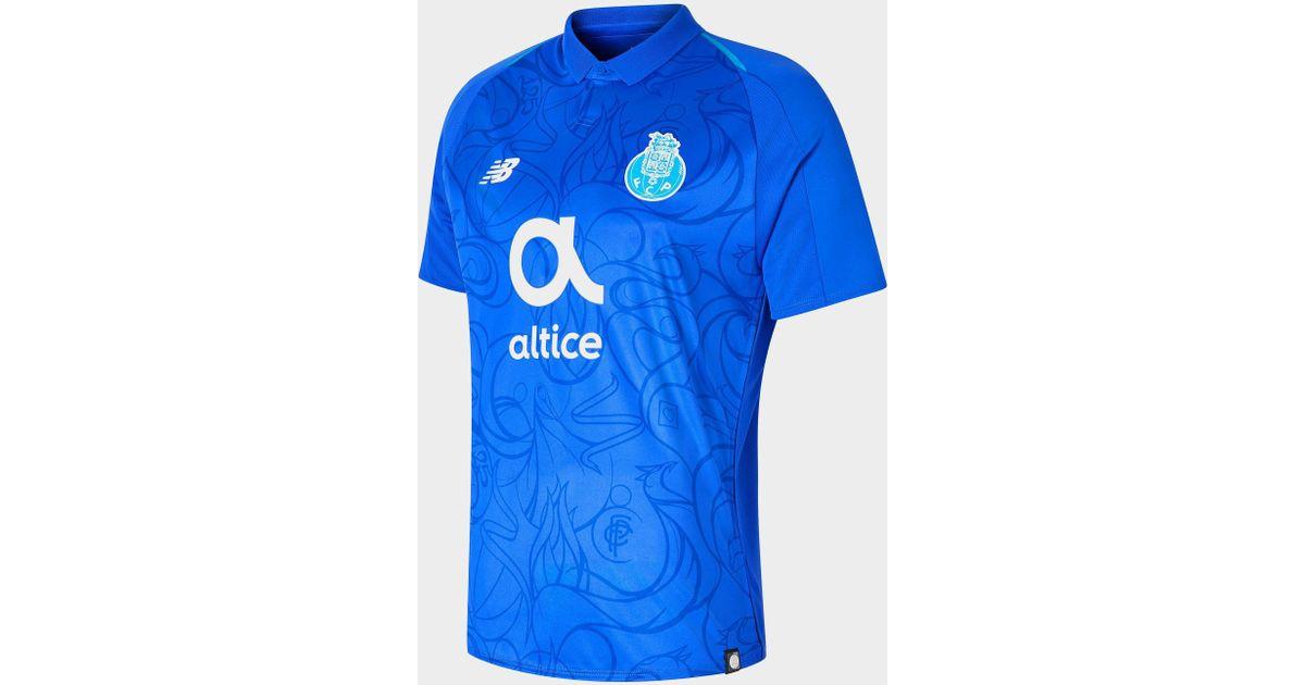 8da1994b2ff Lyst - New Balance Fc Porto 2018 19 Third Shirt in Blue for Men