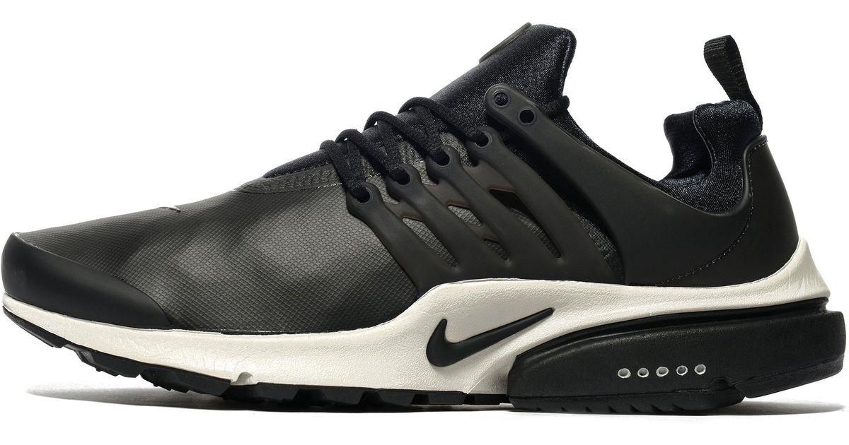 e610cdfef0d0 Lyst - Nike Air Presto Low Utility in Black for Men