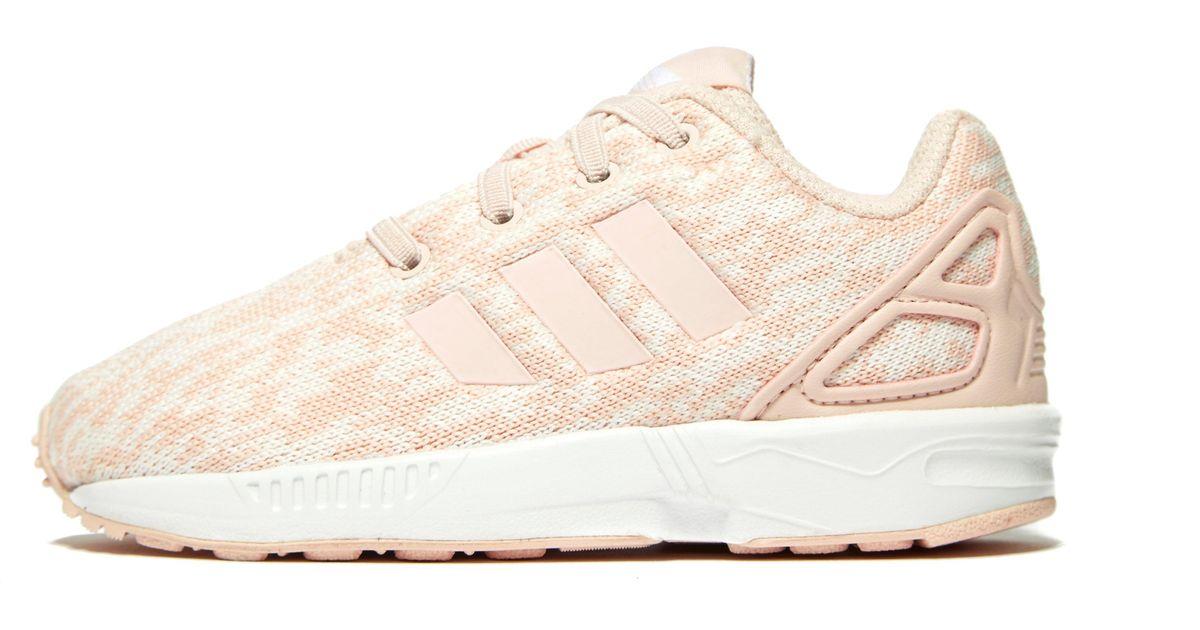 cheaper d56dd c95f6 Lyst - adidas Originals Zx Flux Infant in Pink