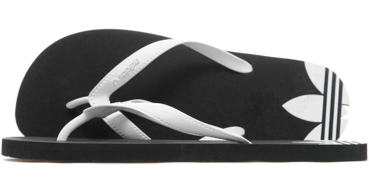 1756b5b002db Lyst - adidas Originals Adi Sun Flip Flops in Black for Men