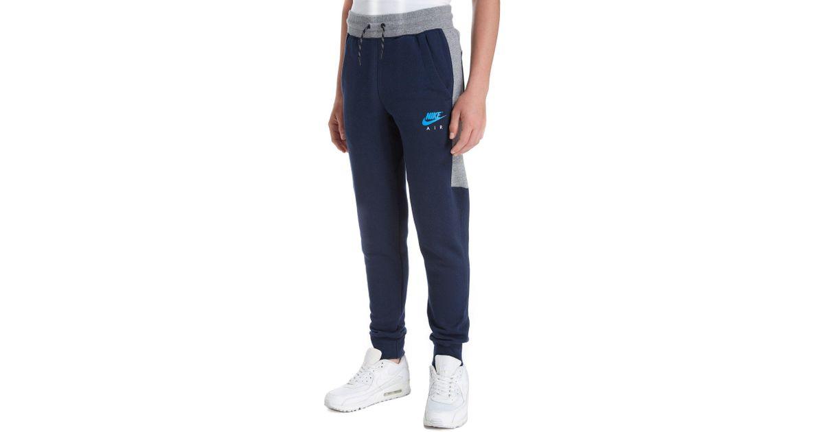 d8de2ad7738d Lyst - Nike Air Track Pants Junior in Blue for Men