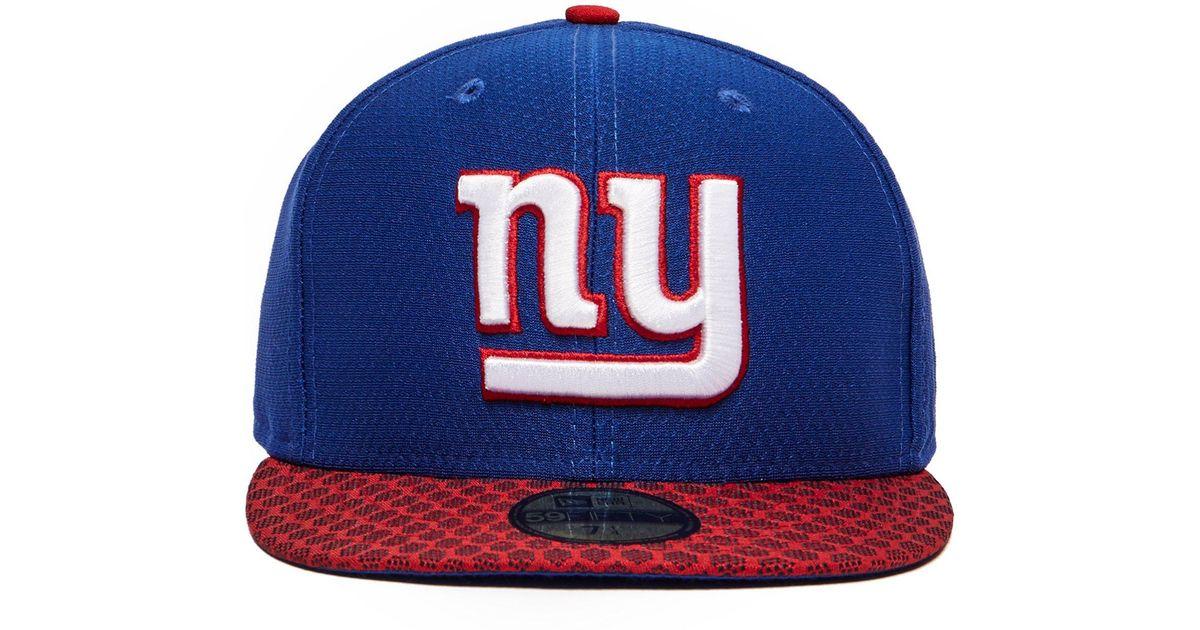 Lyst - Ktz Nfl New York Giants 59fifty Cap in Blue for Men 8f0cbcda1