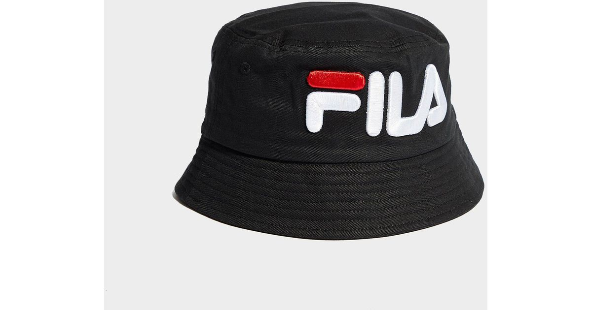 Fila Beefie Bucket Hat in Black - Lyst dec66a37a75