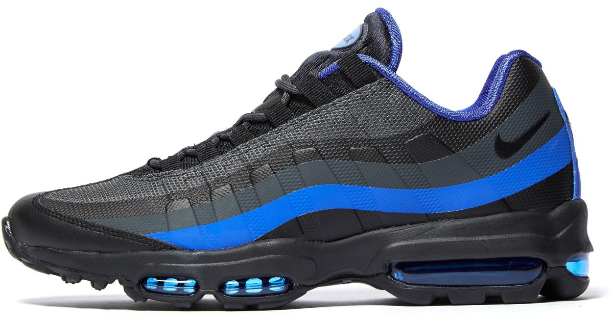 online store 41b82 a97d6 ... greece lyst nike air max 95 ultra essential in blue for men df7f8 8d74b