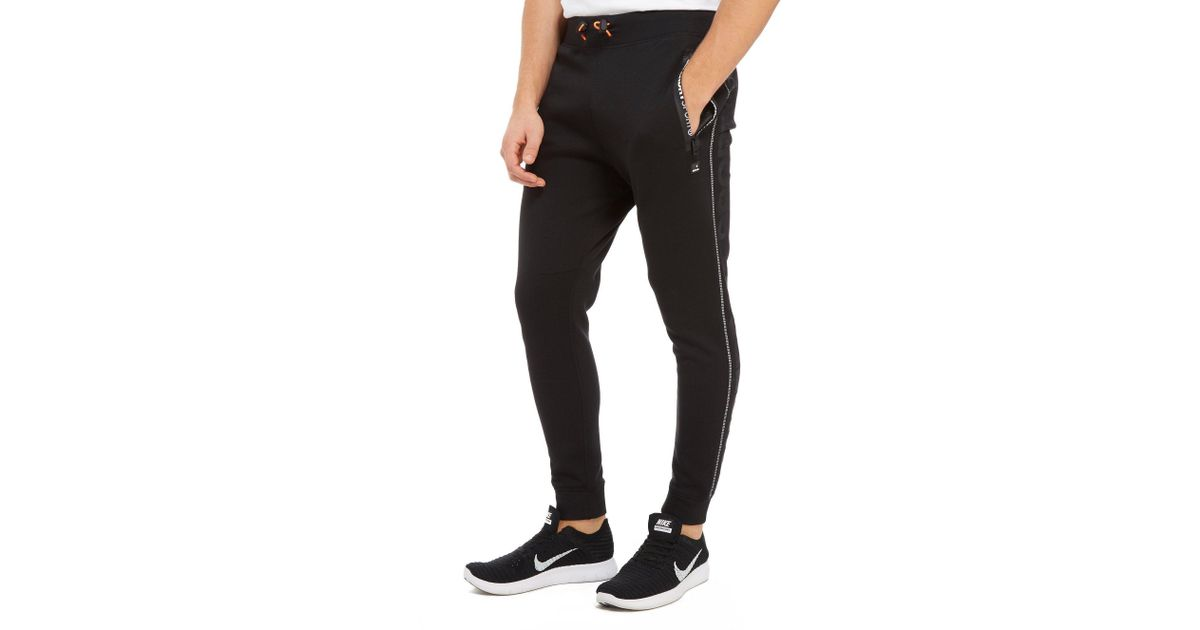 8a071474073bfb Superdry Sport Gym Tech Slim Joggers in Black for Men - Lyst