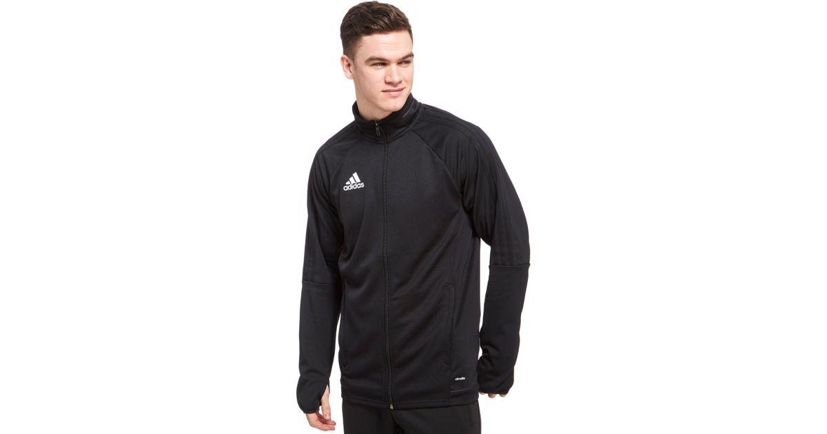 1620f1b73363a adidas Originals Tiro 17 Woven Training Jacket in Black for Men - Lyst