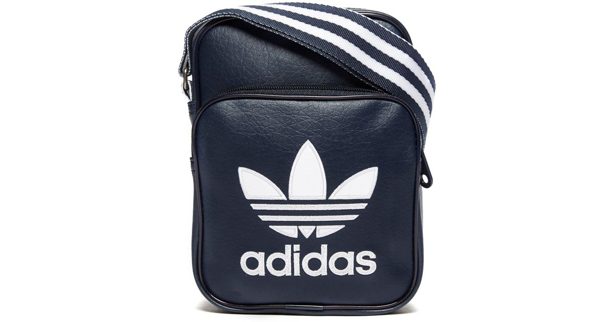 Lyst - adidas Originals Small Items Bag in Blue for Men 4f1629108a46e