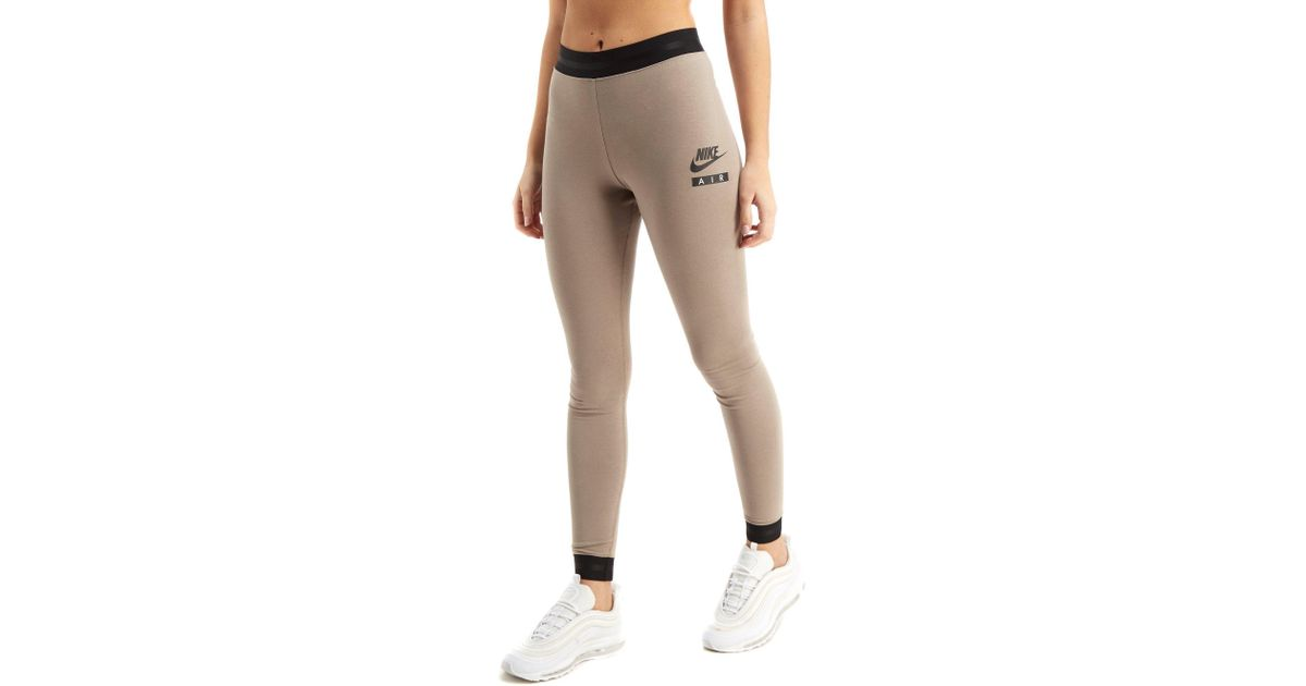 3ef40abe341d3 Nike Air High Waist Leggings in Natural - Lyst