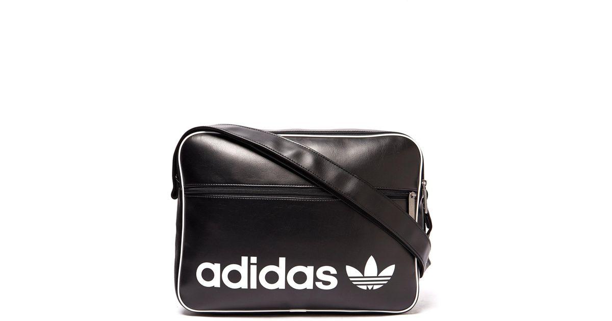 Lyst - adidas Originals Airliner Bag in Black for Men ef3868b6c2eee
