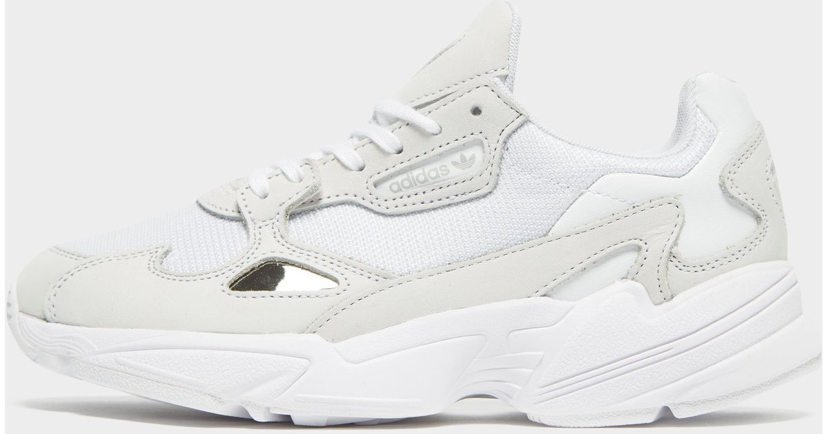 c0f3f58c419d Lyst - adidas Falcon Shoes in White