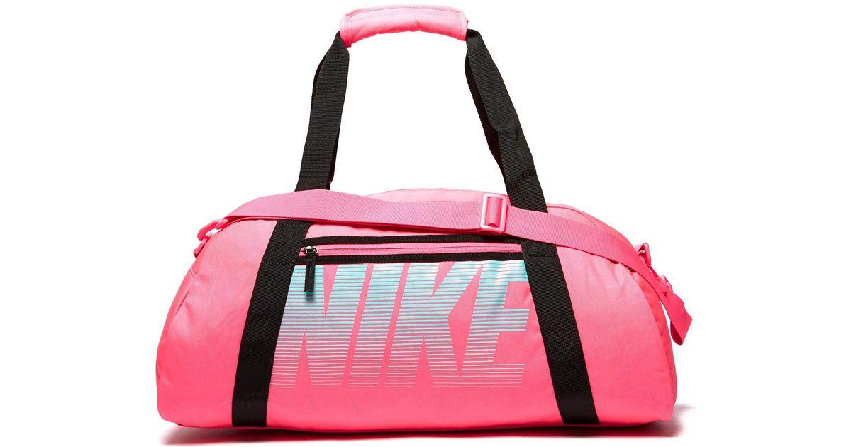 b3508f9c8a Nike Gym Club Training Duffel Bag in Pink - Lyst