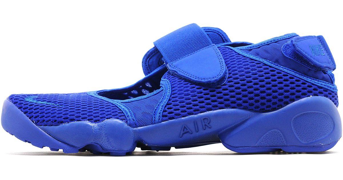 Lyst - Nike Air Rift Breathe Pack in Blue for Men 65c58d3f54e7