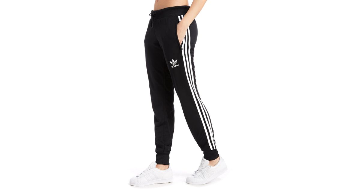 detailed look 3bec8 fb254 Lyst - adidas Originals Poly 3-stripes Pants in Black