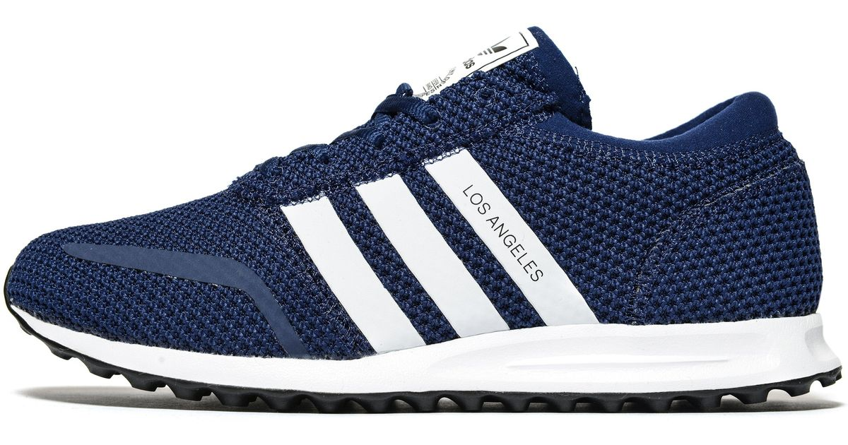 new product b3b31 ccc8f adidas Originals Los Angeles Ck in Blue for Men - Lyst