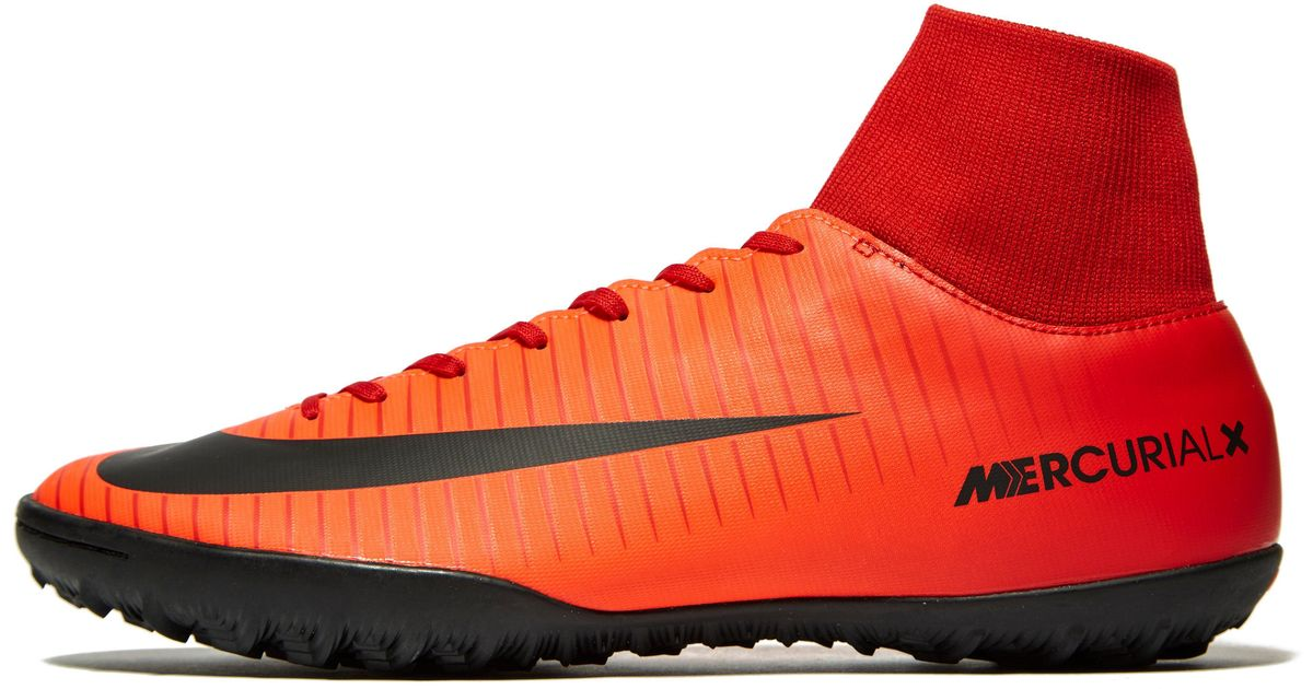 2478be259 Nike Fire And Ice Mercurial Veloce Dynamic Fit Tf in Red for Men - Lyst