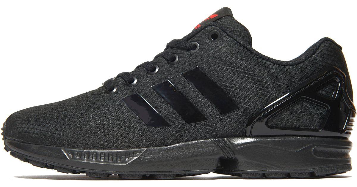 Lyst - adidas Originals Zx Flux Ripstop in Black for Men aa4a5c0705db