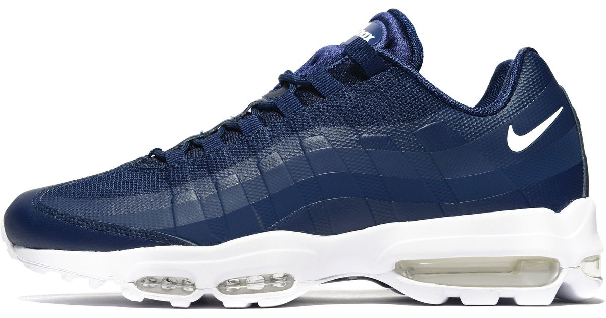 brand new c3594 b51bc Lyst - Nike Air Max 95 Ultra Essential in Blue for Men