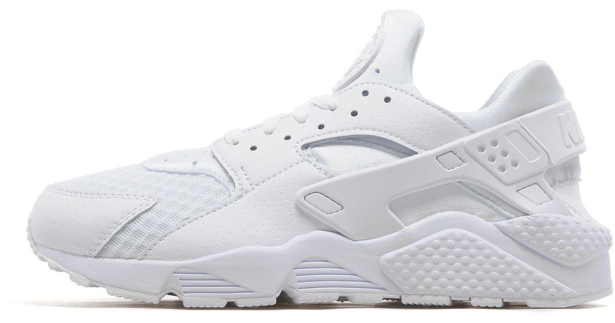 sale retailer 1c5a9 d1639 Lyst - Nike Air Huarache  platinum White  in White for Men