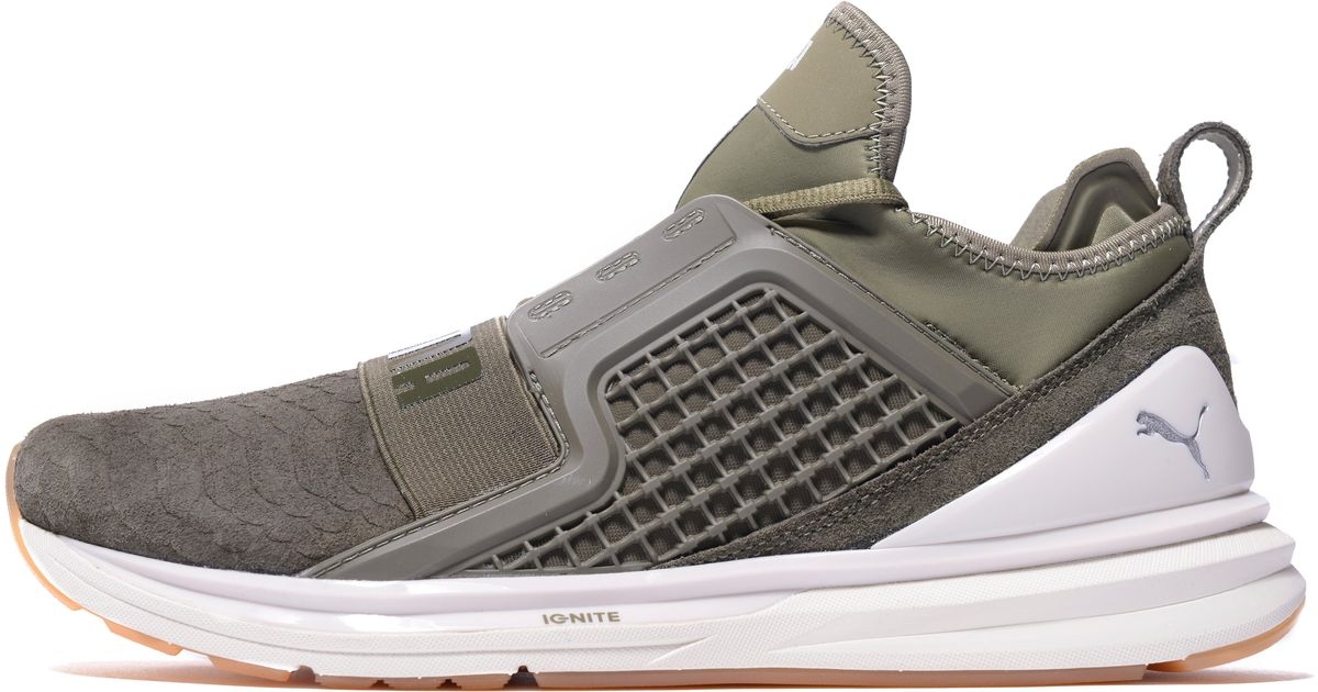 innovative design 07640 91a4f PUMA - Green Limitless Reptile for Men - Lyst