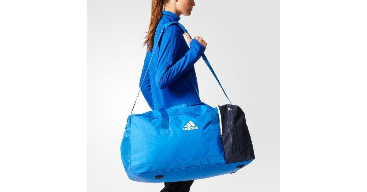 adidas Tiro Team Bag Large in Blue - Lyst 1407c5f7eb543