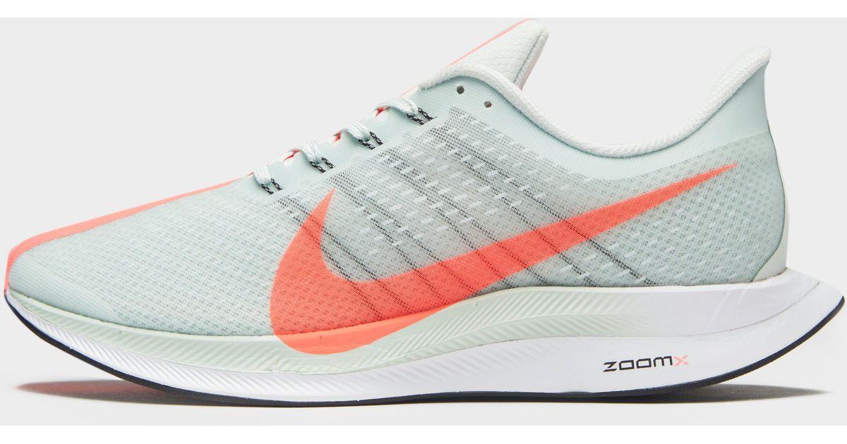 3a57b0eac24e Nike Air Zoom Pegasus 35 Turbo in Gray - Lyst