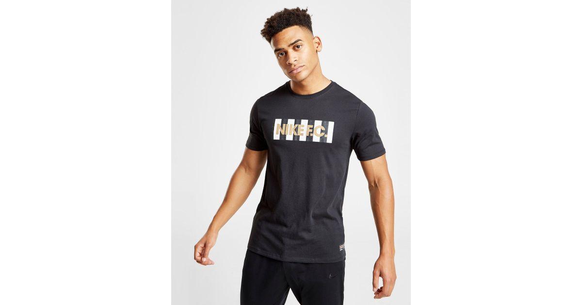 2bf180717bd2 Lyst - Nike Dri-fit F.c. Men s Football T-shirt in Black for Men