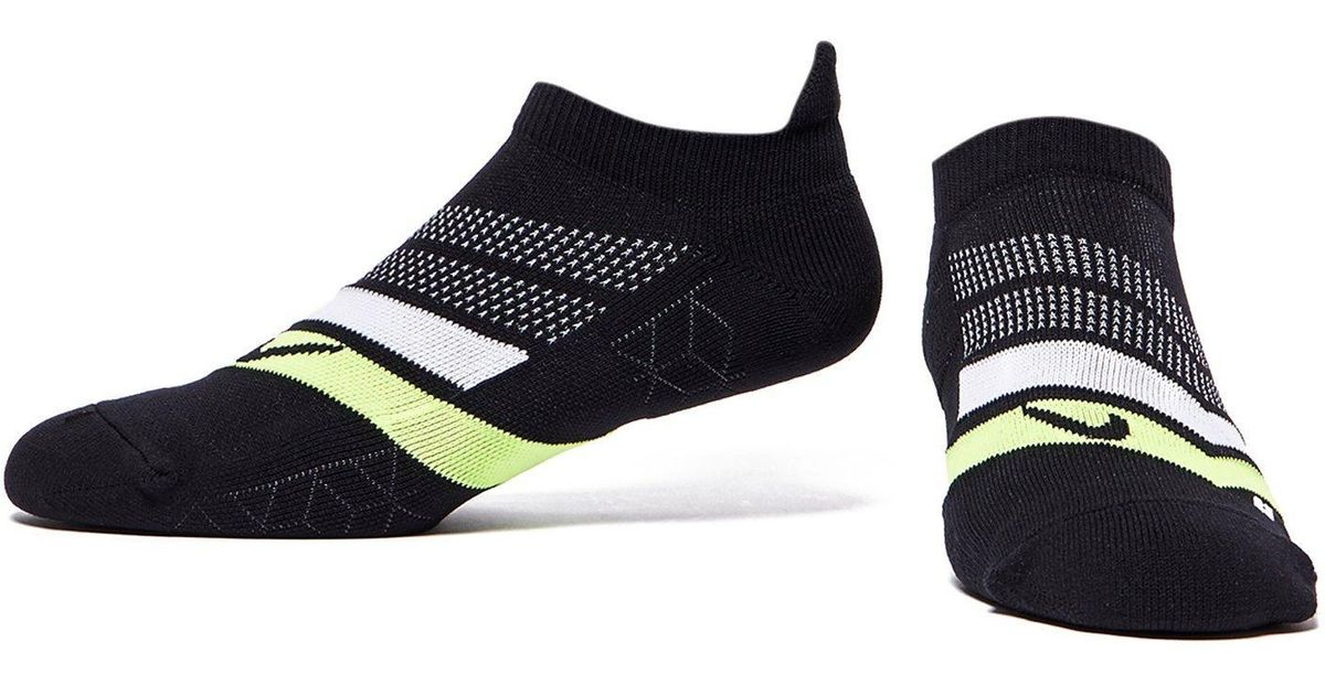 separation shoes 286f0 74eeb Lyst - Nike Run Performance Cushioned Socks in Black for Men