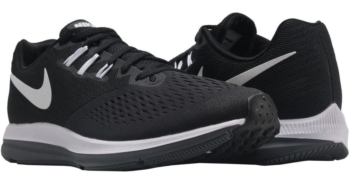 0ad793ce100 Lyst - Nike 898466-001 Zoom Winflo 4 Black White-dark Grey in Black for Men