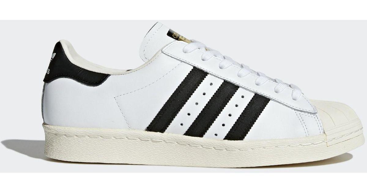 Lyst adidas Originals Superstar 80S ORIGINALS WHT / black1 / chalk2