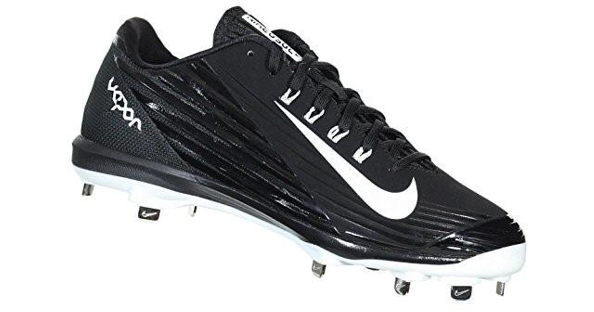 3745192f7b5d Lyst - Nike Mens Lunar Vapor Pro Metal Cleats 9.5 Us Black white anthracite  in Black for Men