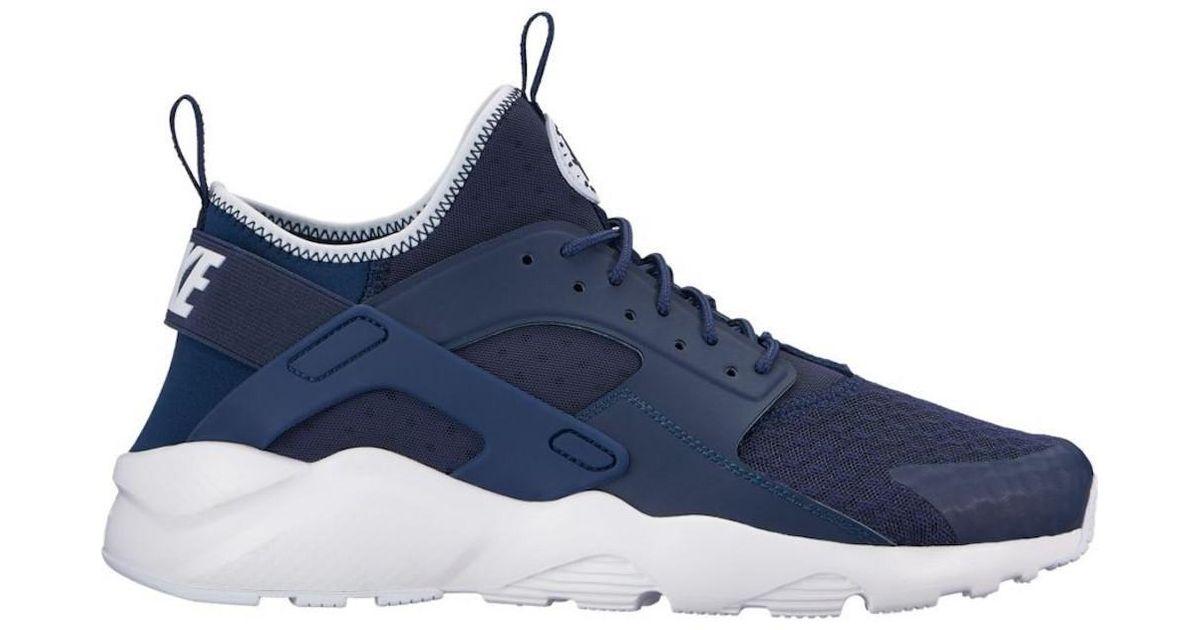 7beaa5fe87c Lyst - Nike Air Huarache Run Ultra Midnight navy obsidian white Running  Shoe 10 Men Us in Blue for Men