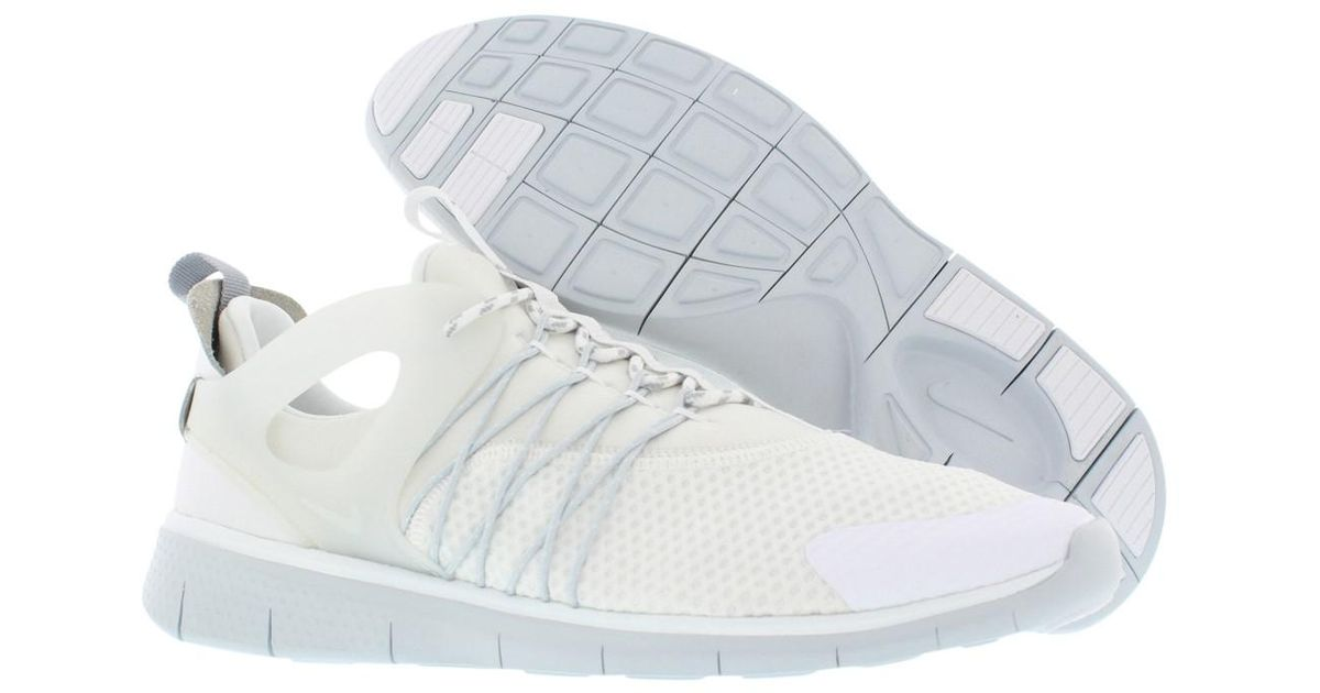 45be7b5773e27 Lyst - Nike Free Viritous Running Shoes in White