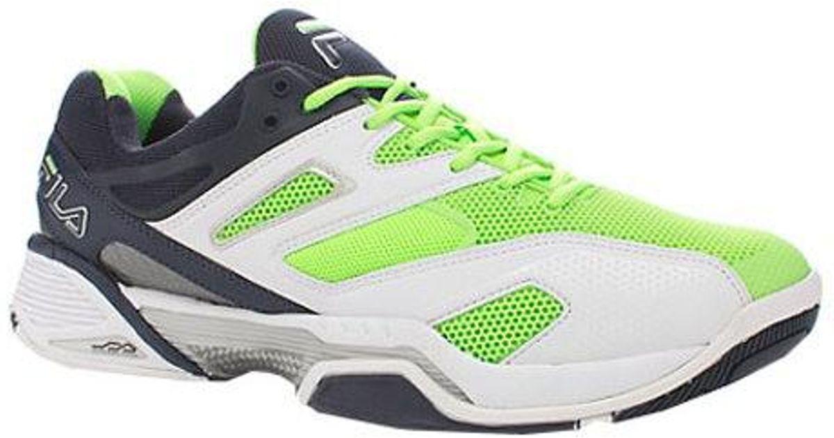 2920a4a9e5b Lyst - Fila Sentinel in Green for Men