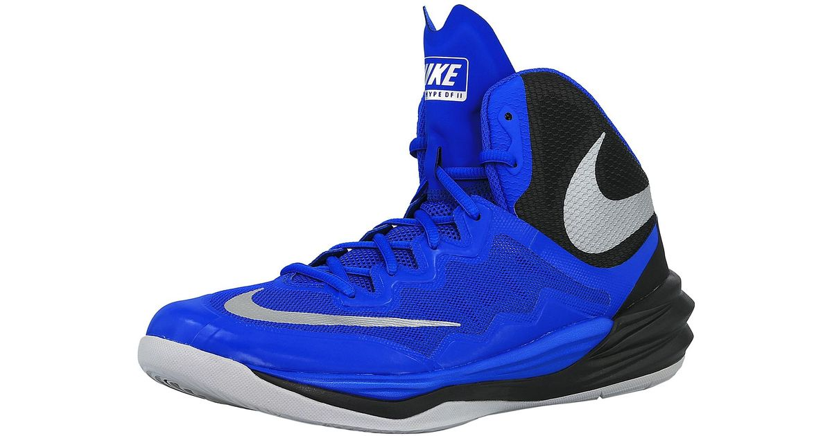 af9cd25c280b Lyst - Nike Prime Hype Df Ii 401 Ankle-high Basketball Shoe in Blue for Men
