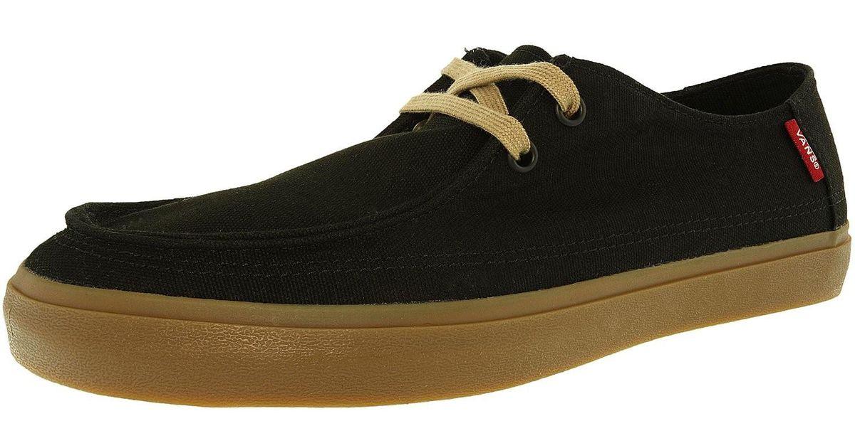 1ed0b750b1 Lyst - Vans Rata Vulc Sf Black light Gum Ankle-high Canvas Fashion Sneaker  in Black for Men