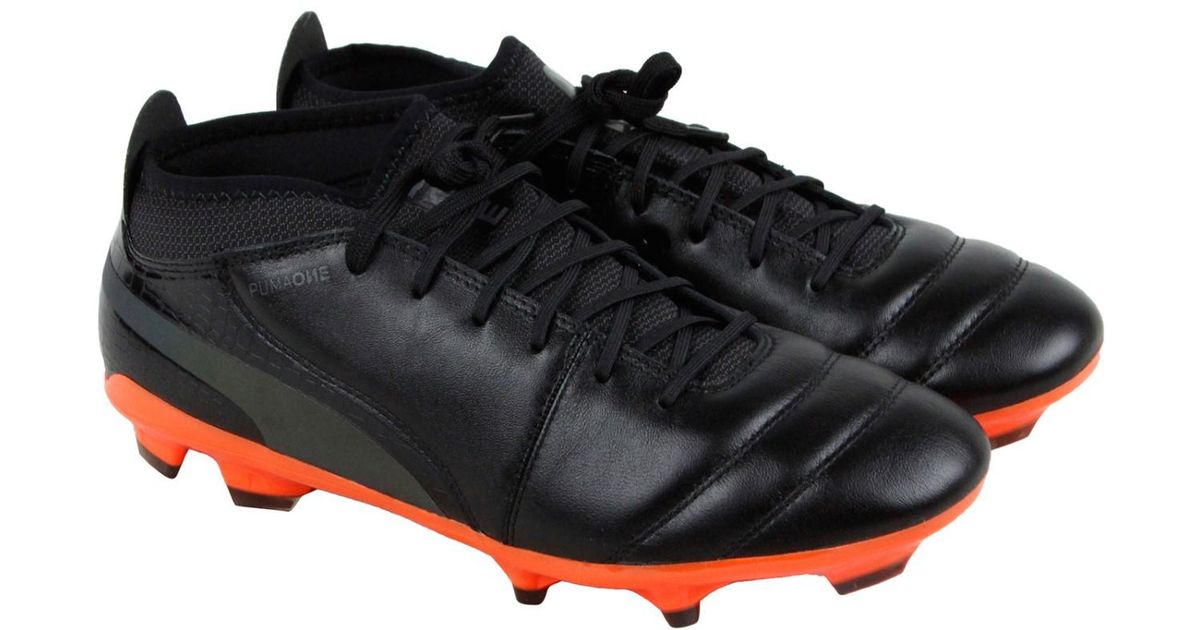 e216d8463 Lyst - PUMA One Lux 2 Firm Ground in Black for Men