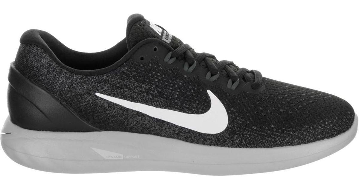 sale retailer bf973 328e4 Lyst - Nike Lunarglide 9 Black white Dark Grey Running Shoe 8.5 Men Us in  Black for Men