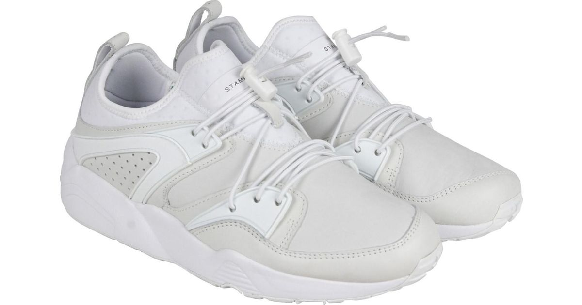 192b63c2e830 Lyst - Puma Blaze Of Glory X Stampd Men Us 10 White Sneakers in White for  Men