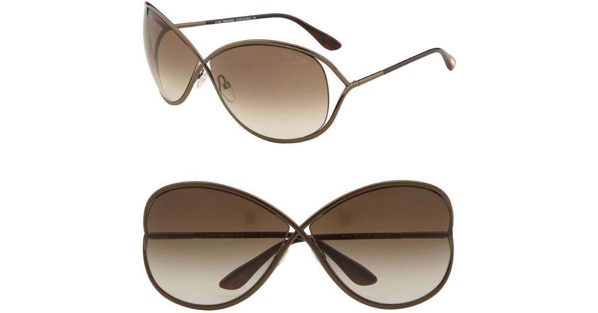 70488c922d Tom Ford Ft0130 Miranda Butterfly Sunglasses