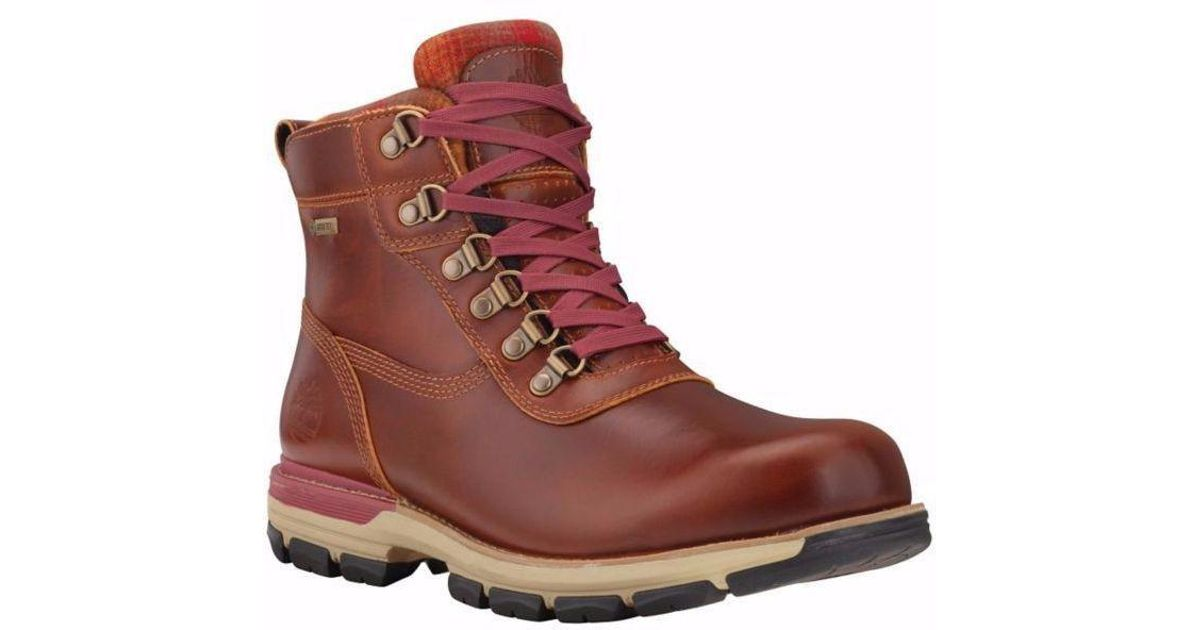 3ee146f2c18eb1 Lyst - Timberland Heston Mid With Gore-tex Membrane Waterproof Brown  Tb08705b214 in Brown for Men