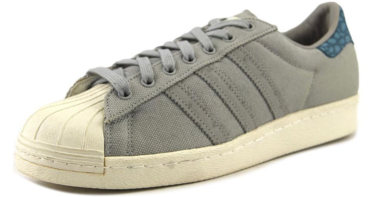 huge discount d6362 5c7f9 Lyst - Adidas Superstar 80s Animal Oddit Men Us 8 Gray Sneakers in Gray  for Men