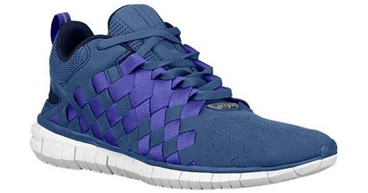 wholesale dealer ff822 4f8e6 Lyst - Nike Free Og 14 Woven Blue Legend   Persian Violet-midnight Navy  Ankle-high Walking Shoe in Blue