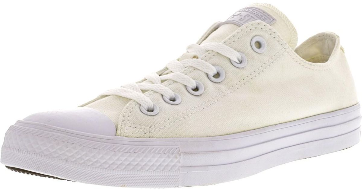 f409b6e86790 Lyst - Converse Chuck Taylor All Star Seasonal Ox Ankle-high Fashion Sneaker  - 8.5m   6.5m in White