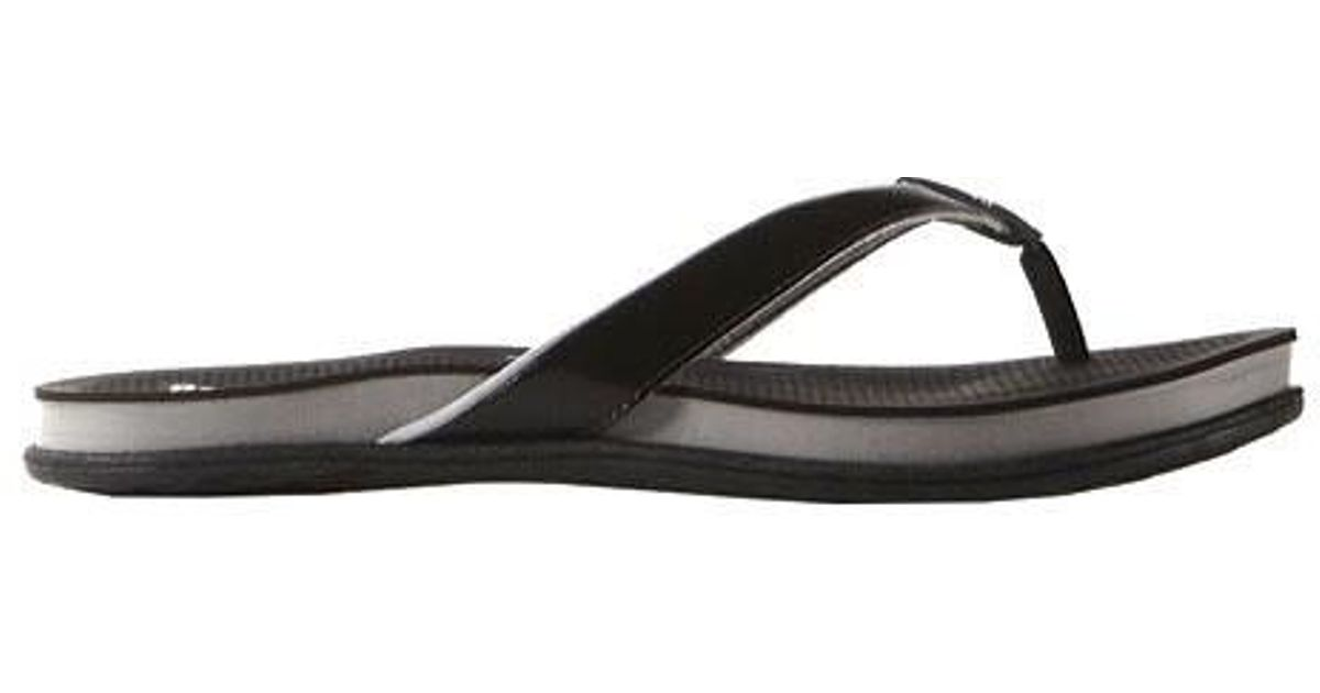 c2012176f833 Lyst - adidas Supercloud Plus Thong Sandal in Black