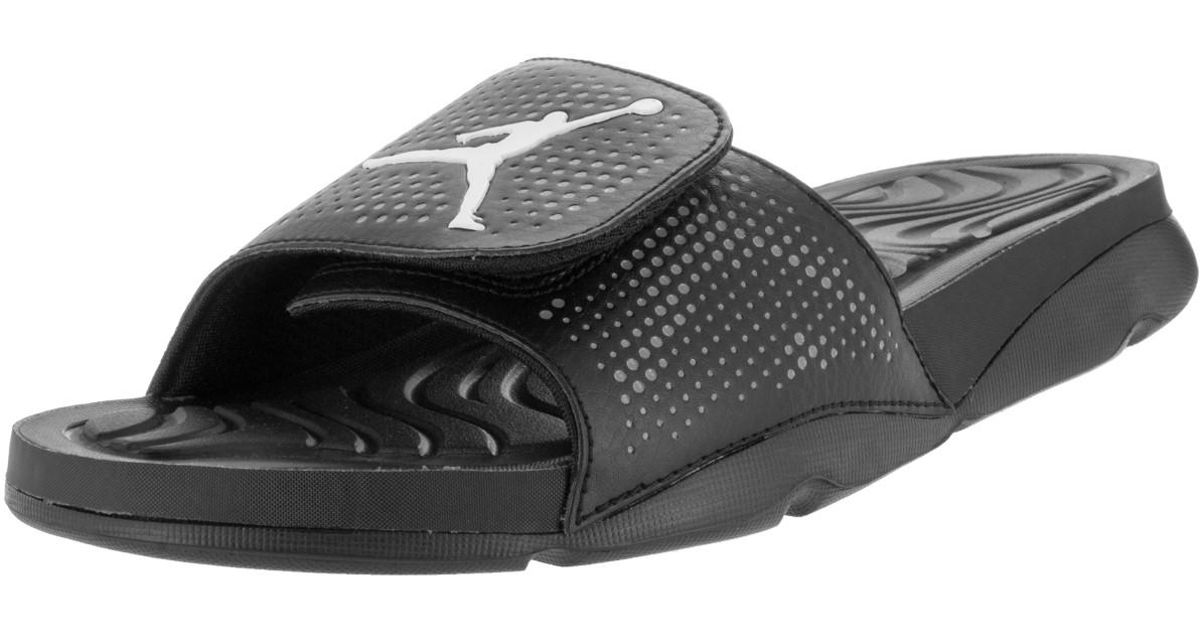 18b9e95148c0f6 Lyst - Nike 820257-010   Jordan Mens Hydro 5 Sandal Cool Grey white black  (8 D(m) Us in Black for Men